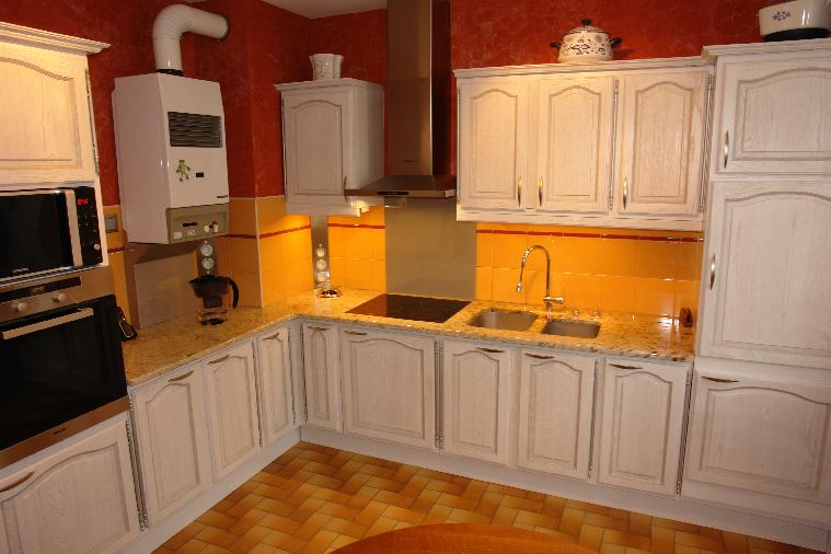 Super Renovation Cuisine Chene Avant Apres. Erstaunlich Renovation  GE74
